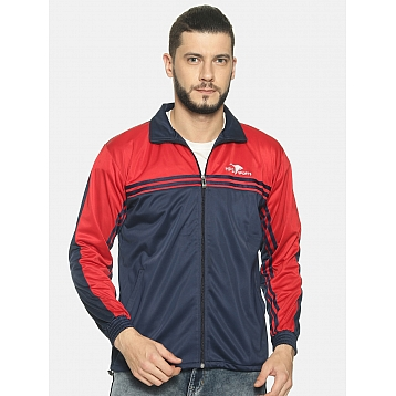 HPS Sports Navy/ Red Polyester Jacket