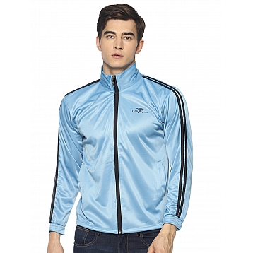 HPS Sports Sky Blue Polyester Jackets