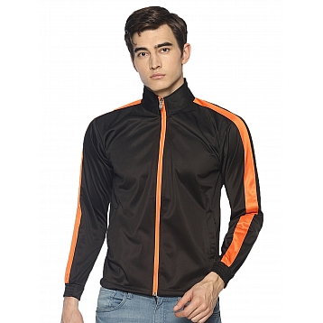 HPS Sports Black Orange Jackets