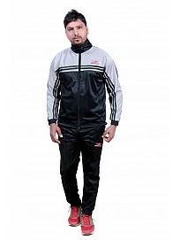 HPS Sports Solid Men's Black Track Suit