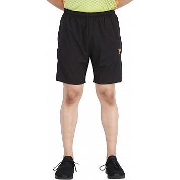 HPS Sports Solid Men's Black Shorts