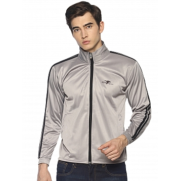 HPS Sports Silver Polyester Jackets