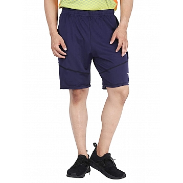HPS Sports Lycra Men's Navy Shorts