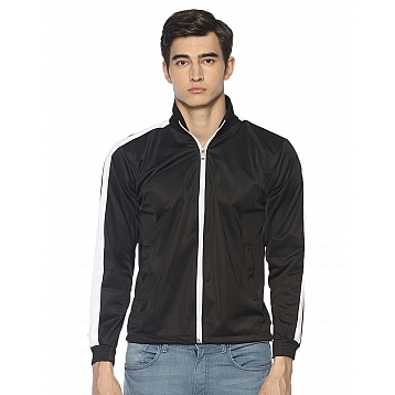 HPS Sports Black Polyester Jackets