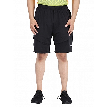 HPS Sports Lycra Men's Black Shorts