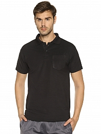 HPS Sports Black Collar T shirts