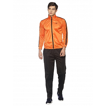 HPS Sports Orange Polyester Tracksuits