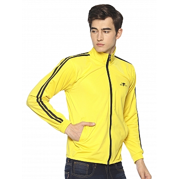 HPS Sports Yellow Polyester Jackets