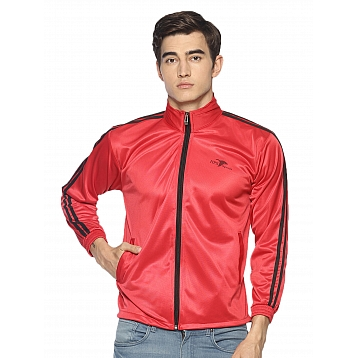 HPS Sports Red Polyester Jackets