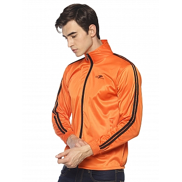 HPS Sports Orange Polyester Jackets